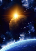 Space flare — Stock Photo