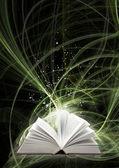 волшебная книга — Стоковое фото