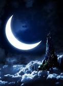 Nacht sprookjesachtige — Stockfoto