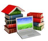 Books online — Stock Photo