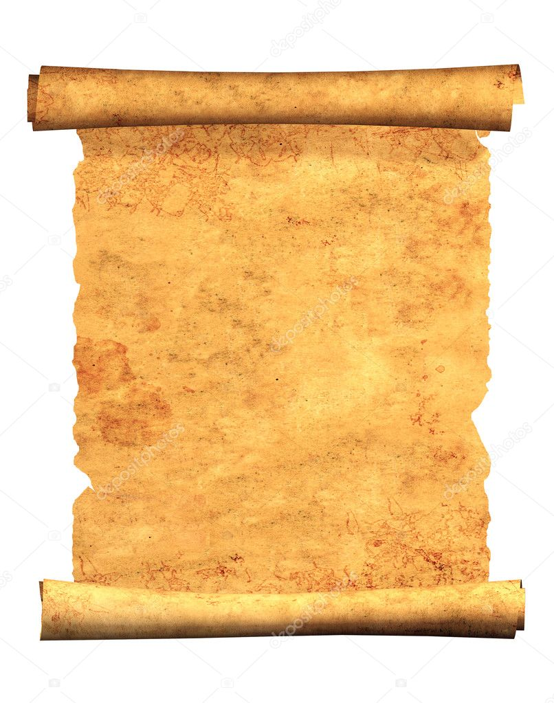 3d Scroll Of Parchment Photo: Stock Photo © Frenta #5437126