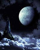 Night fairy-tale — Stock Photo