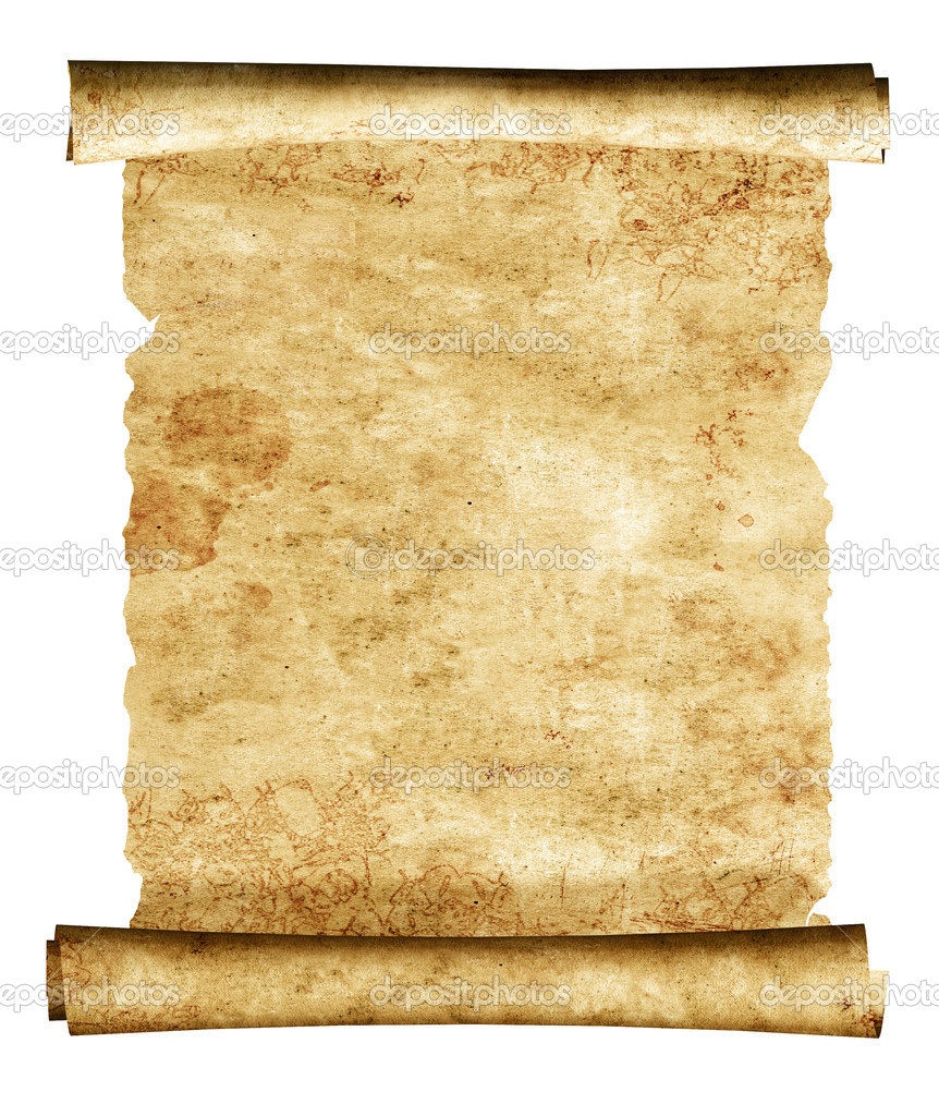 3d scroll of old parchment — Stock Photo © frenta #5596612