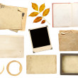 Collection elements for scrapbooking — Stock Photo #5791977