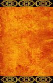 Grunge background with celtic patterns — Stok fotoğraf