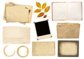 Elementos de la colección para scrapbooking — Foto de Stock
