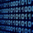 Stock Photo: Binary code