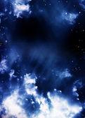 Ein wunderbarer raum-szene — Stockfoto