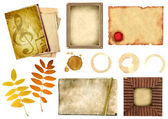Éléments de la collection pour le scrapbooking — Photo