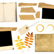Stock Photo: collection elements for scrapbooking
