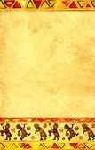 Afrikaanse nationale patronen — Stockfoto