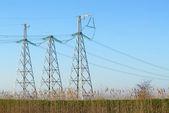 電気送電線 — ストック写真