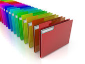 Folders Icon — Stock Photo