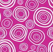 Seamless vector handdrawn purple circle texture — Stock Vector
