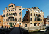 Old House - panorama ,Venice,Italy — Stock Photo