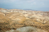 Panorama of Arava desert,Israel — Stock Photo