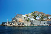 View of Hydra island - one of the Saronic Islands of Greece — Stock Photo