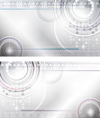 абстрактные фоны в стиле техно — Cтоковый вектор