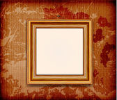 Old wooden frame — Stock Vector