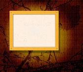 Деревянная рама — Cтоковый вектор