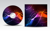CD cover design — Stockvector