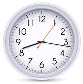 Horloge de bureau — Vecteur