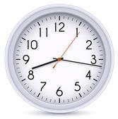 Office klok — Stockvector
