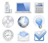 Universal Web Icon Set — Stock Vector