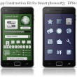 Royalty-Free Stock Imagen vectorial: UI elements for Smart phone