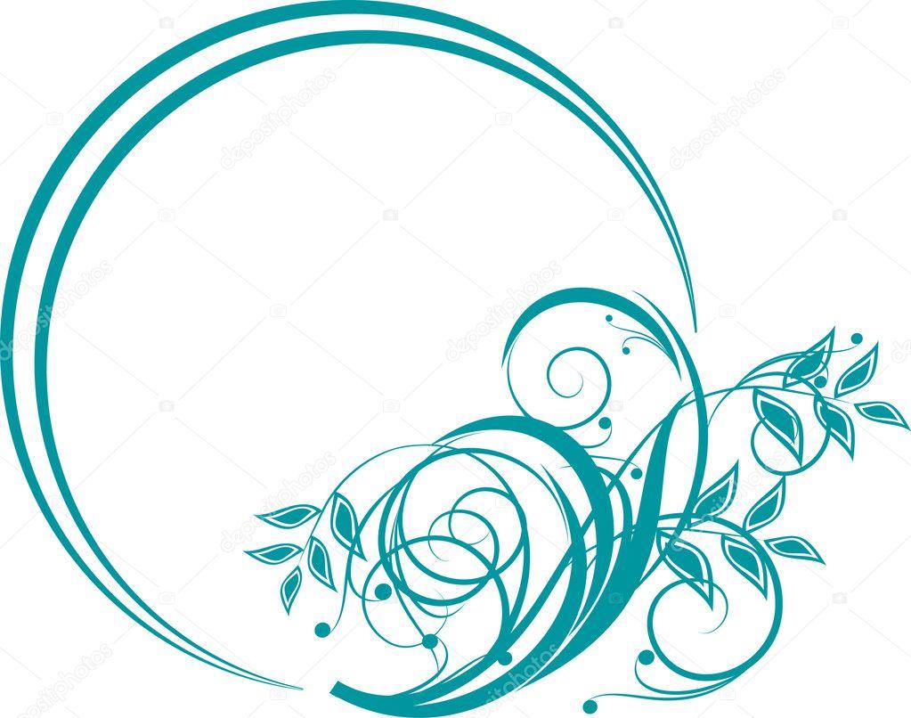 Floral Decorative Designs Floral Design Element in