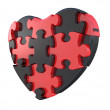 Royalty-Free Stock Photo: Heart puzzle
