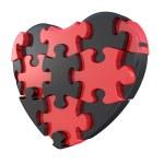 Heart puzzle — Stock Photo