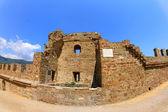 Ruinen zu fortress in sudak — Stockfoto