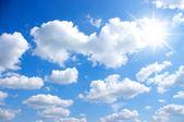 Cielo y sol — Foto de Stock