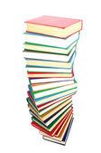 Livros sobre o branco — Fotografia Stock