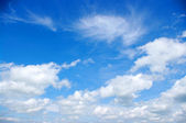 Blue sky background — Foto Stock