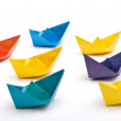 Paper ships — Stock Photo #5793964
