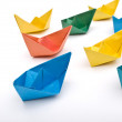 Paper ships — Stock Photo #5794028