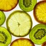 Fruits background — Stock Photo