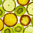 Stock Photo: Fruits background