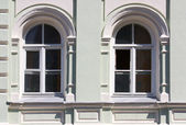 Two windows — Stockfoto