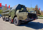 Russian anti-aircraft complex S-300 — Stock Photo