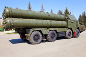 Russian antiaircraft complex S-300 — Stock Photo