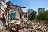 Ruined Building — Stock Photo