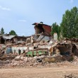 Stock Photo: Destroyed building