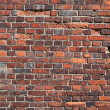 Red old brick wall background — Stock Photo