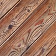 Brown wood texture with natural patterns — Stock Photo #6714510