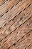 Brown wood texture with natural patterns — 图库照片