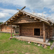 Royalty-Free Stock Photo: Ancient traditional russian wooden  house
