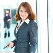 Beautiful business woman — Stock Photo #5672824